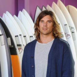 Surfboard shaper with a big future